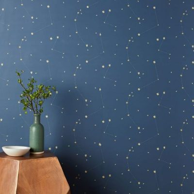 Accent Wall Ideas with Removable Wallpaper and Wall Stencils - Featured TNP 3
