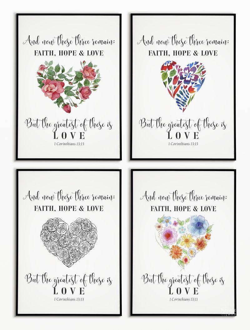 4 Free Valentine's Day Printables