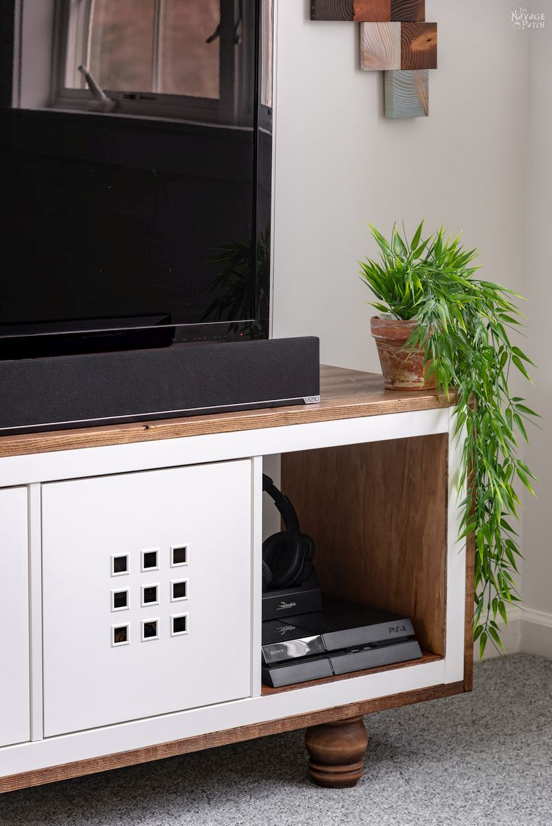 Ikea Kallax Hack Tv Stand The Navage Patch