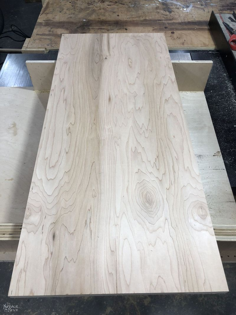 large piece of plywood