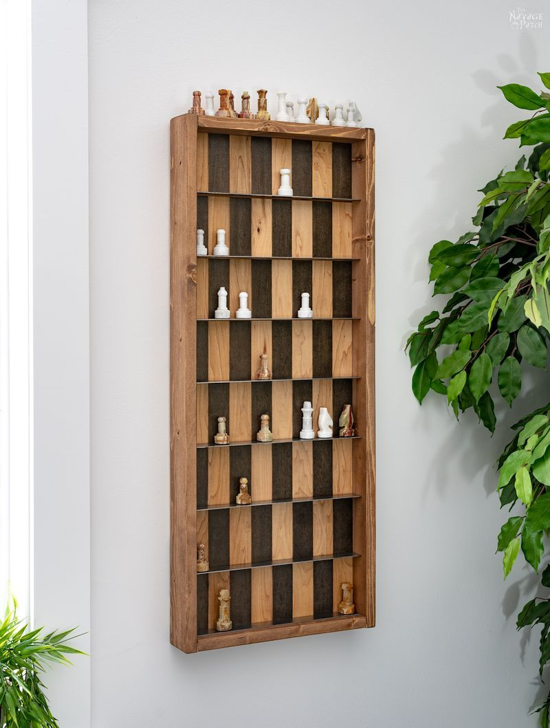 DIY Vertical Chess Board