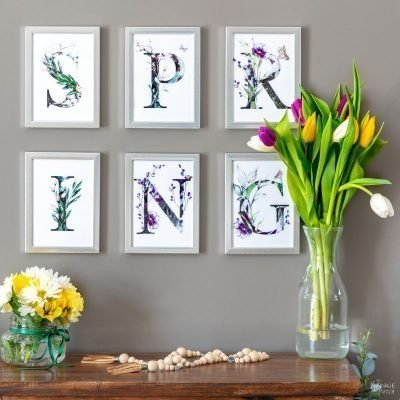 Free Printable Spring Banner - Featured TNP