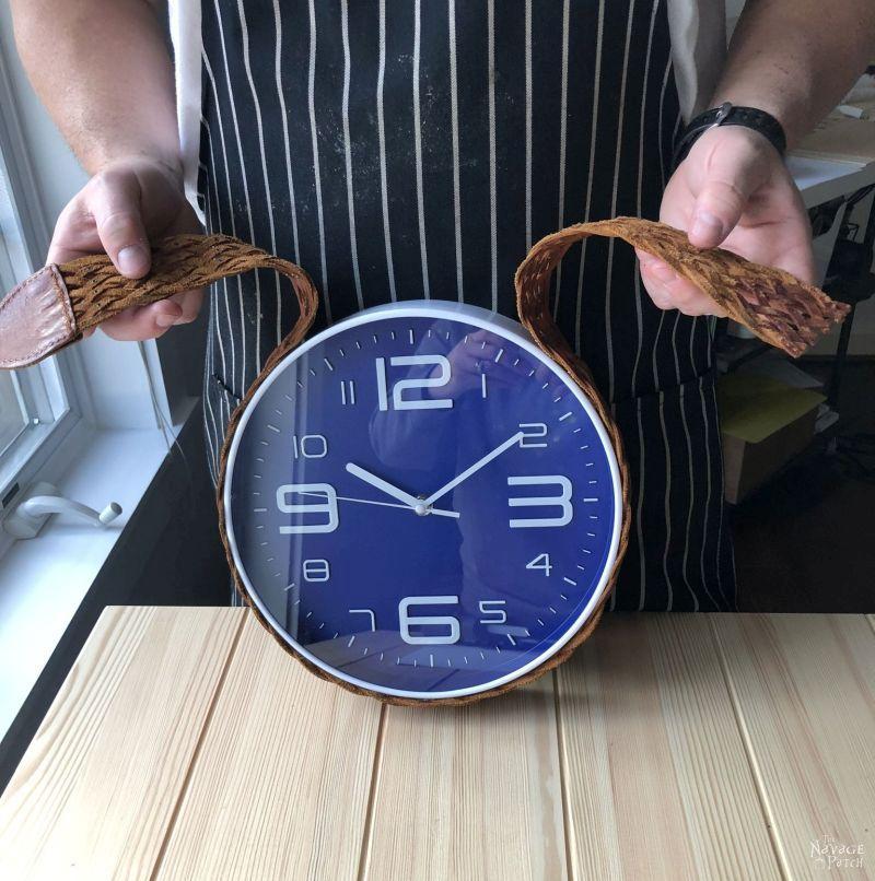DIY Belt Clock