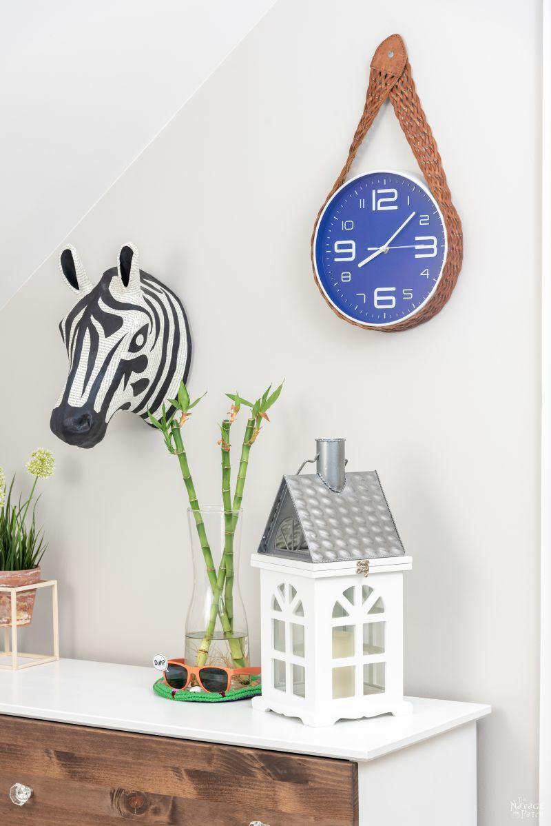 DIY Clock Makeover | TheNavagePatch.com