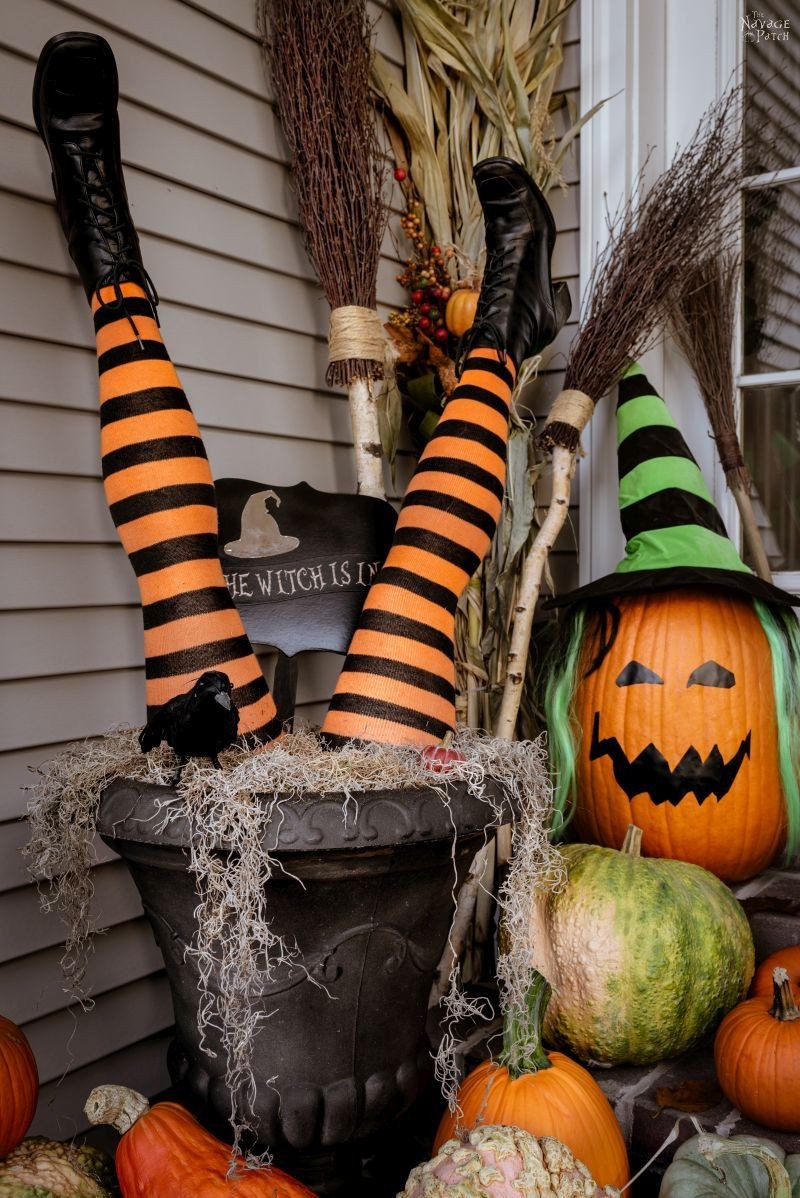 Cheap and Easy Halloween Decoration Ideas by TheNavagePatch.com