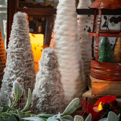DIY Faux Fur Trees featured image