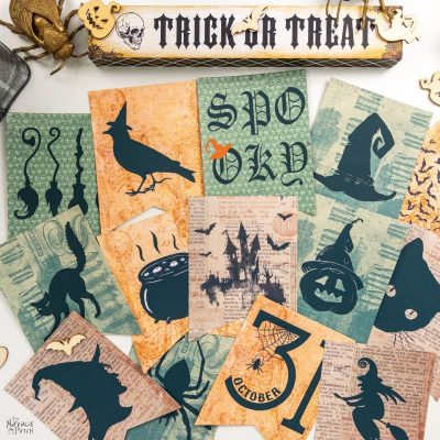 printable halloween garlands
