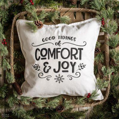 DIY Christmas Pillows