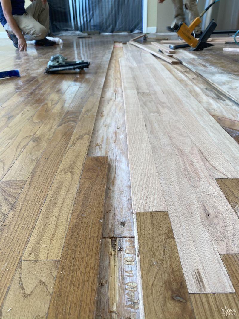 repairing a wood floor