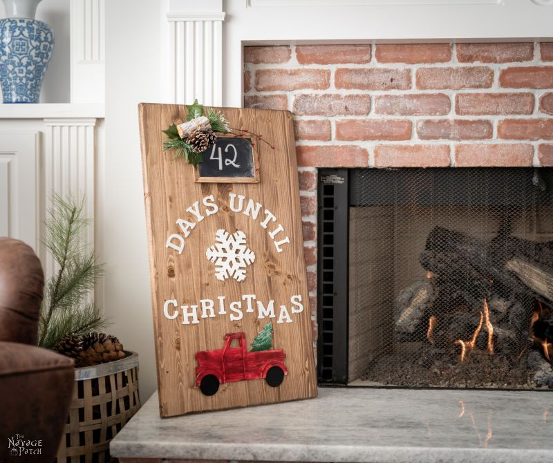 DIY Christmas Countdown - TheNavagePatch.com