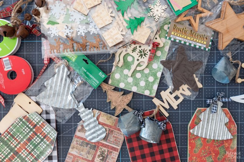 gift tags and embellishments