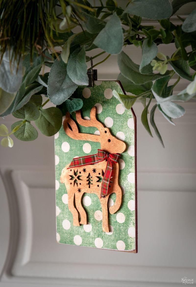 DIY Dollar Store Christmas Garland - TheNavagePatch.com