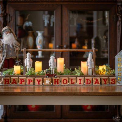 DIY Decorative Holiday Blocks - TheNavagePatch.com
