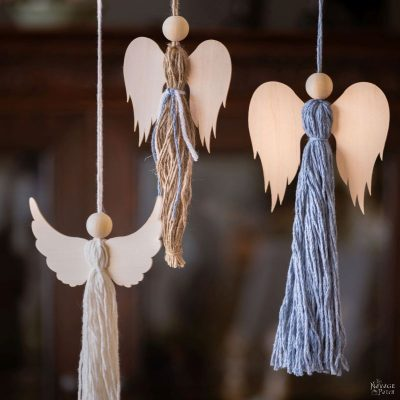 DIY Tassel Angels - TheNavagePatch.com