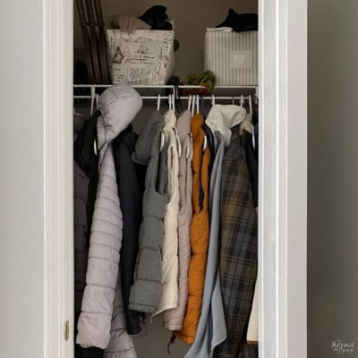 Coat Closet Makeover Plan - TheNavagePatch.com