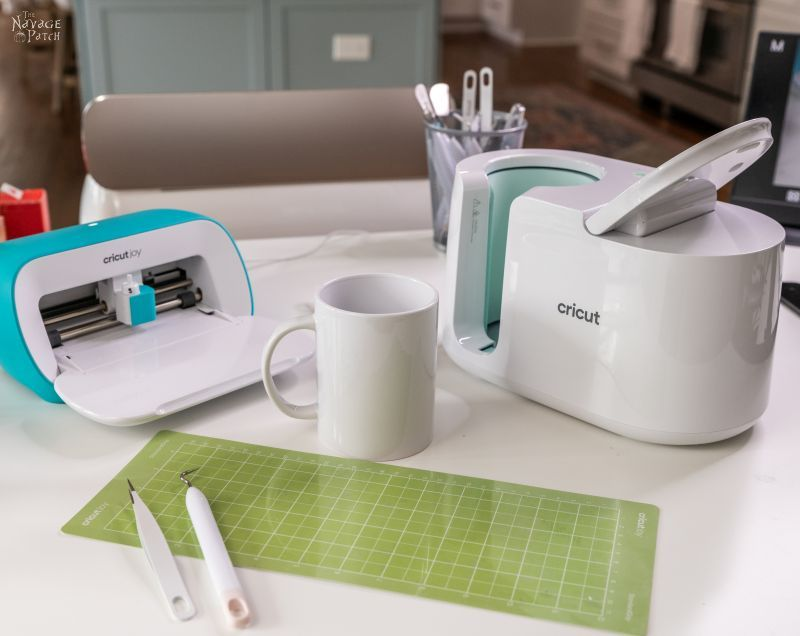 Cricut mug press and joy
