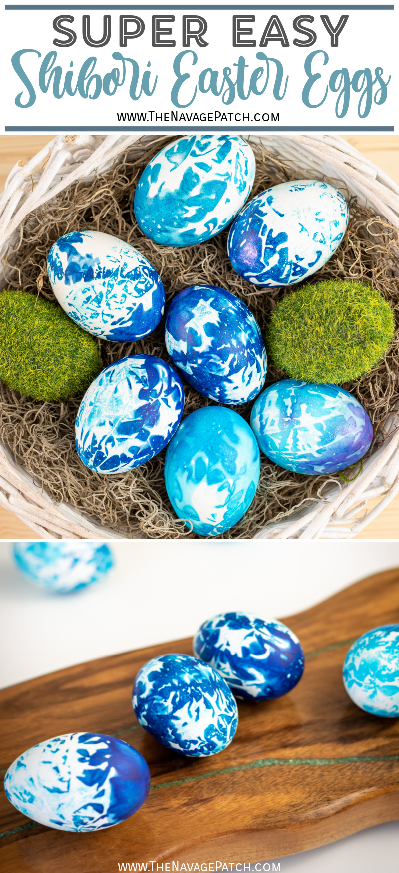 DIY Shibori Easter Eggs – TheNavagePatch.com