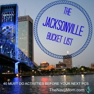 The Jacksonville Bucket List
