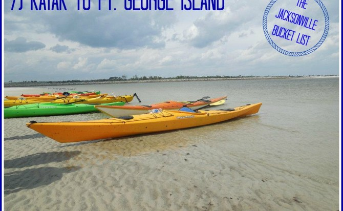 Kayaking wit First Coast Outfitters