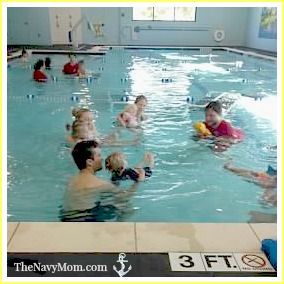 Splish Splash Babies Class at Swimming Safari