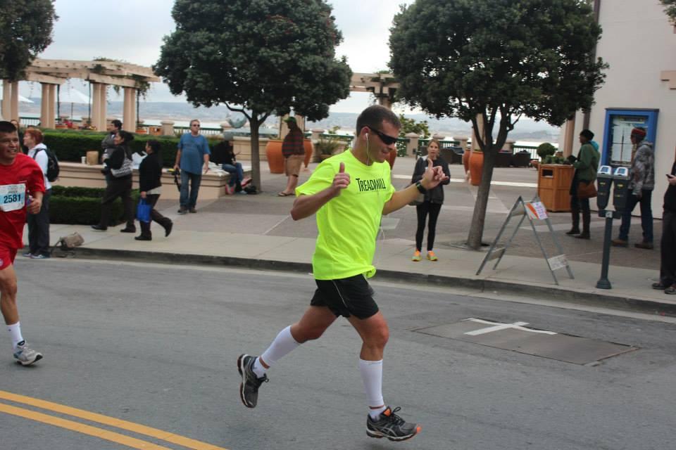 Dustin Running Big Sur Half