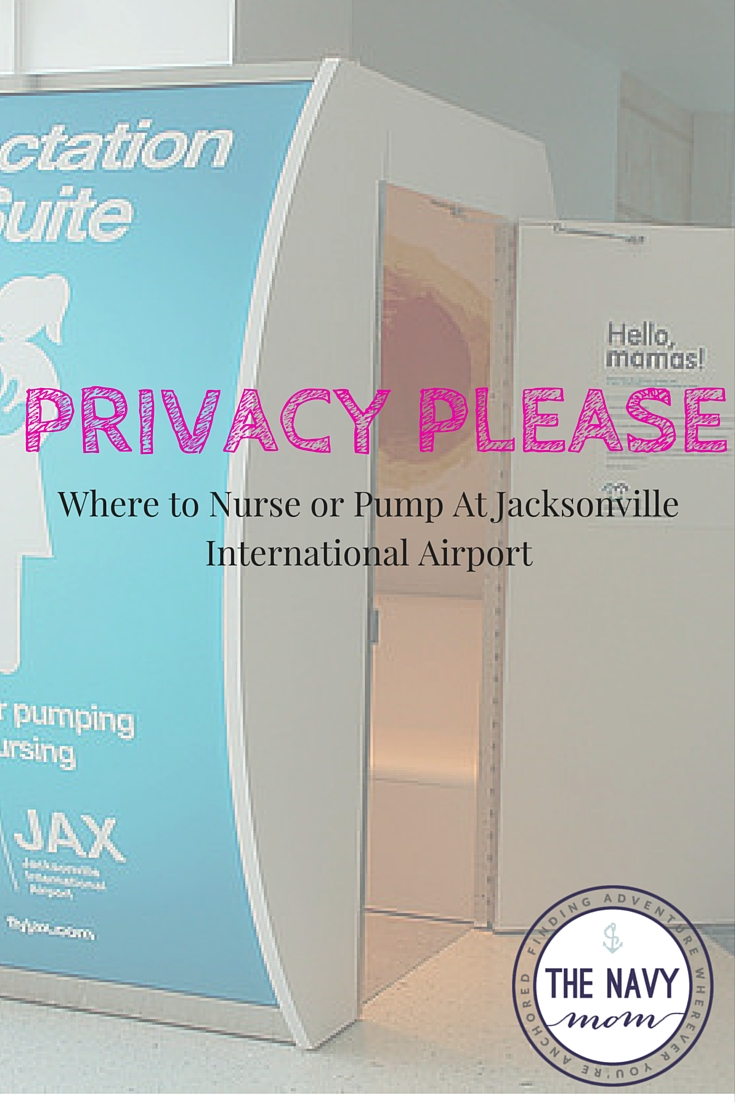 Where to Nurse or Pump at Jacksonville International Airport