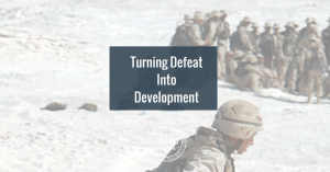 Turning Defeat Into Development