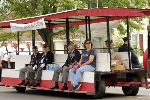 MemorialDayParadeLegion Trolley