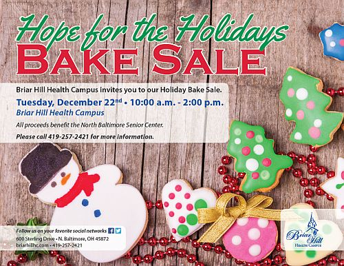 Hope For The Holidays Bake Sale  ThenbxpressCom
