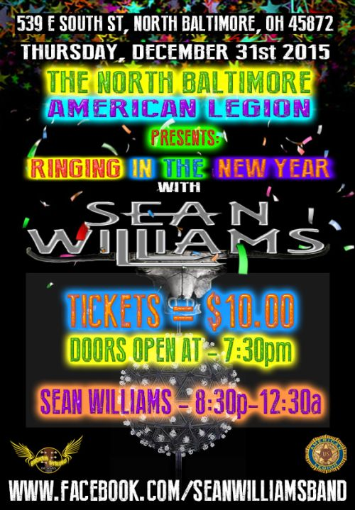 Legion New Years 2015-16 flyer