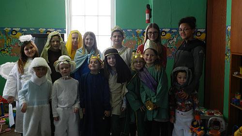 Church of Christ's Christmas program