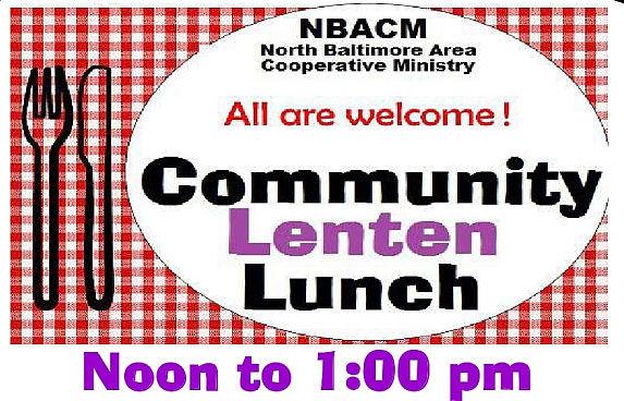 Community Lenten Lunch