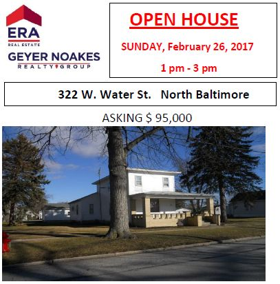 OPEN HOUSE on West Water St. in NB