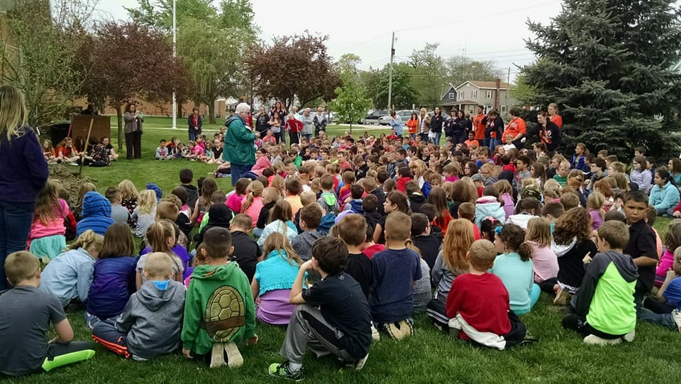 Arbor Day Celebrated at Powell Elementary