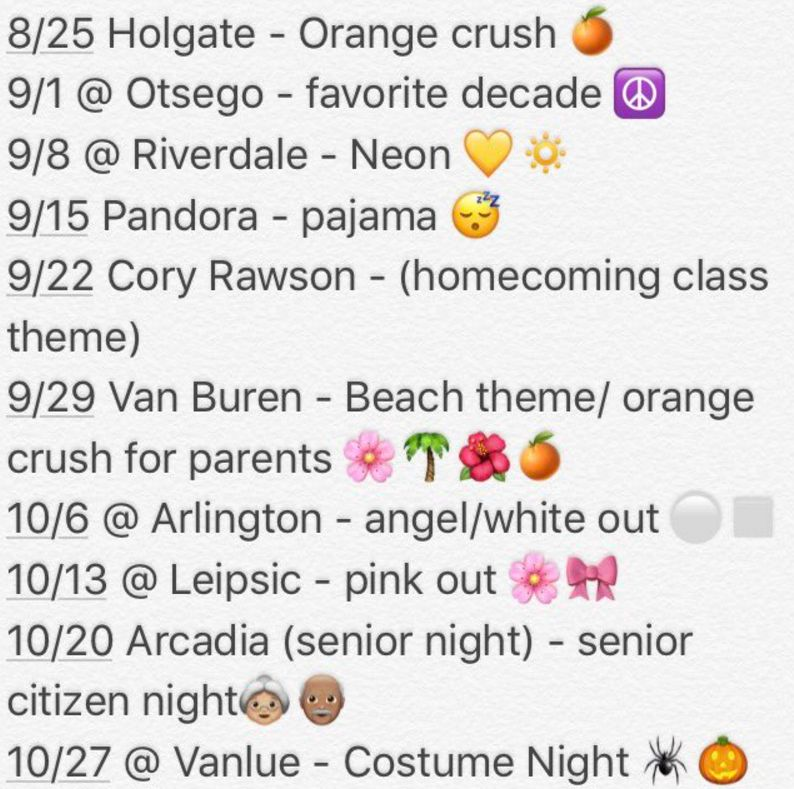 "NB Football Game ""Theme"" Nights Scheduled"