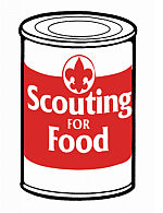 Boy Scouts Organize Food Drive to Benefit Local Food Pantries