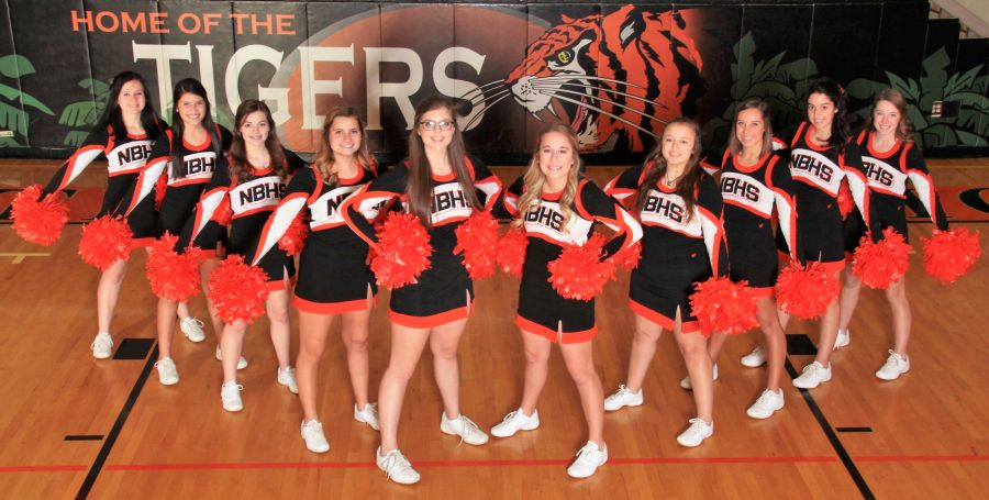 NBHS Cheerleaders 2017 – 18