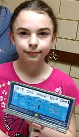 Powell Student Wins Wood County Billboard Contest