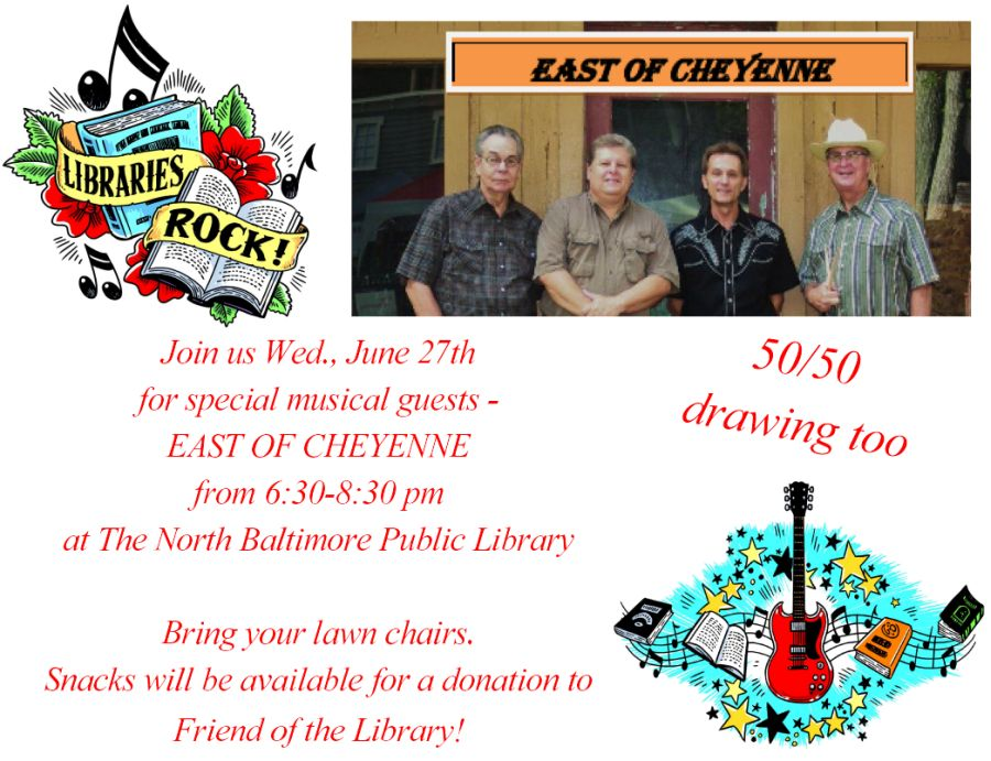 'East of Cheyenne' at NB Library