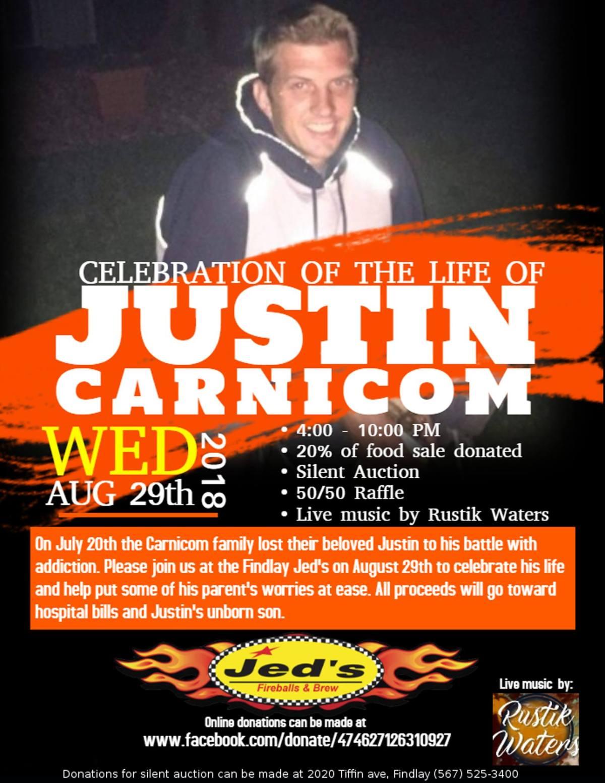 Jed's Fundraiser for Carnicom Family