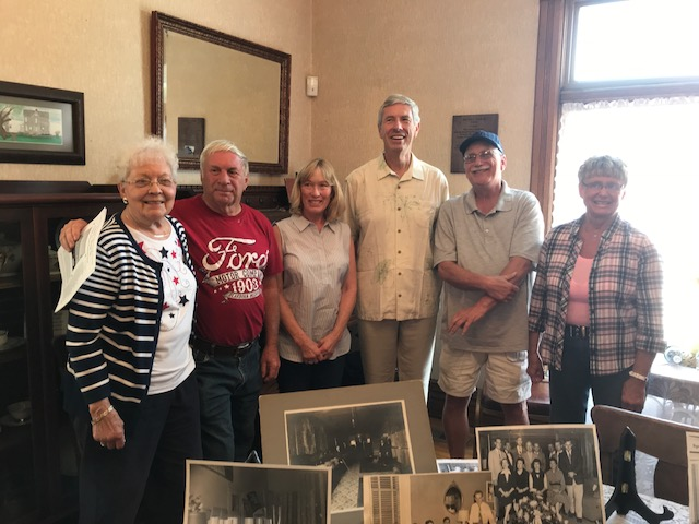 PARLOR OF N.B. HISTORICAL MUSEUM DEDICATED IN HONOR OF LEN L. TROUT, SR.