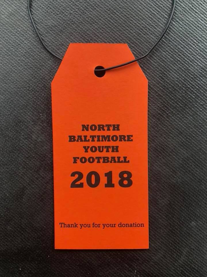 NB Youth Football Tag Day