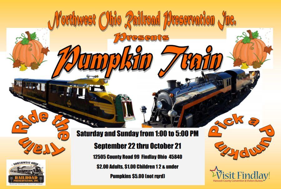 """All Aboard"" The NWORP Pumpkin Train"
