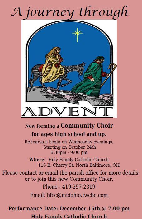 Community Choir Forming