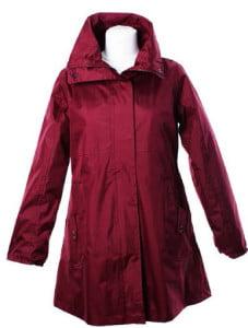 LJ064 Ladies New England Coat red front