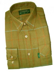 SH28 Gents Norfolk Tweed Check Shirt