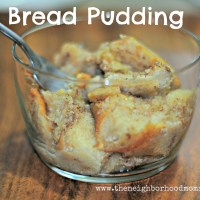 Easy, Southern Bread Pudding