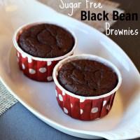 Sugar Free Chocolate Black Bean Brownies