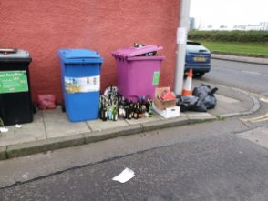 Lower Granton Road bins