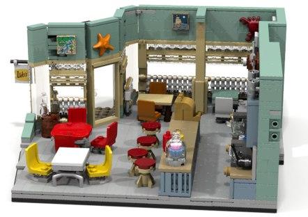Lego Gilmore Girls Set 2